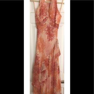 BCBGMaxAzria Dresses - Beautiful Pink halter dress!